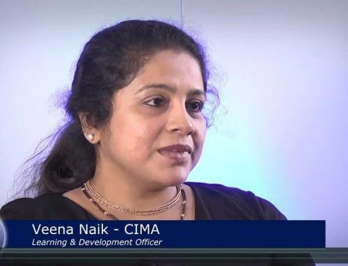 eMentoring: Veena Naik, Learning & Development Officer, CIMA