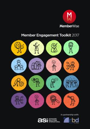 Member Engagement Toolkit 2017