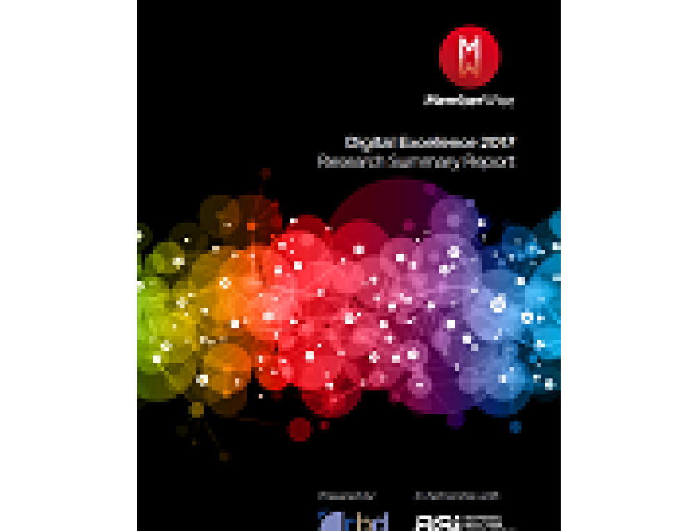 Digital Excellence (2017) – Research Summary Report VIP Launch Event – will you be joining us?